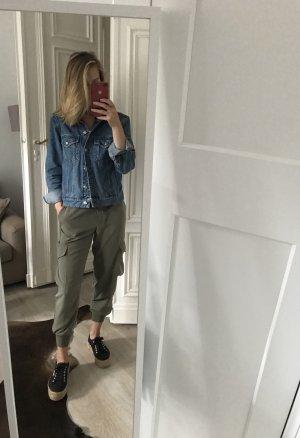 Zara Cargo Pants khaki
