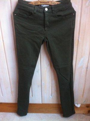 khaki Hose von Zara Gr. 38