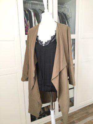 Bershka Long Jacket multicolored