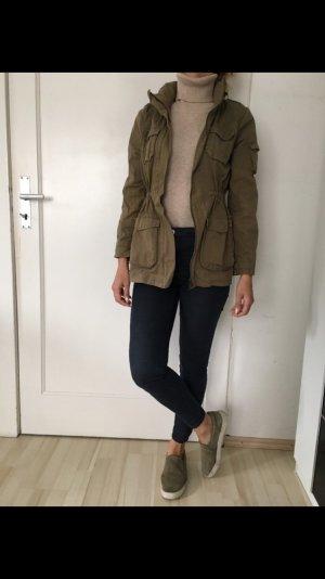 Khaki Jacke aus H&m ..