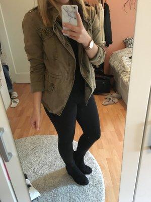 Khaki Jacke von Zara