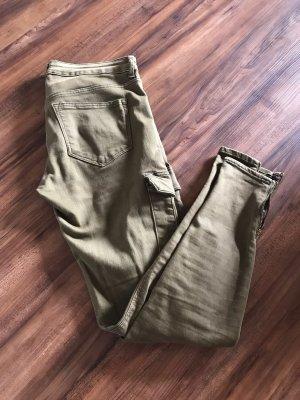 Khaki Jeans von H&M