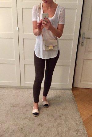Zara Jeans stretch vert olive