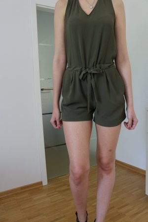 Khaki Jumpsuit von Zara