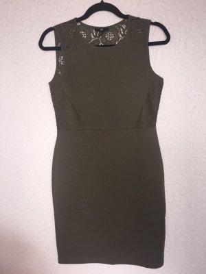 Khaki Kleid H&M