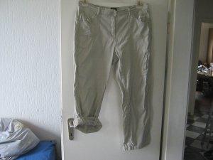 khaki Krempel-Jeans