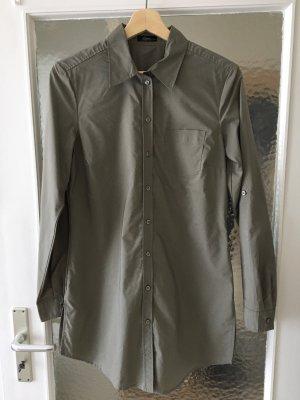 Khaki Long-Bluse - s. Oliver - Größe 36