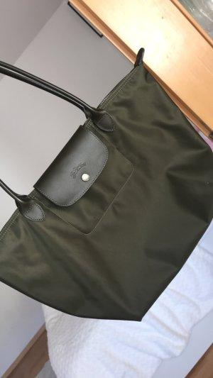 Longchamp Carry Bag dark green
