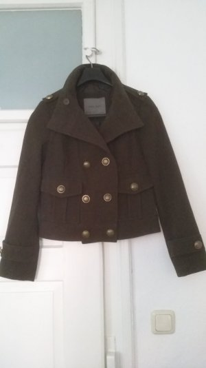 khaki  Military Jacke Zara