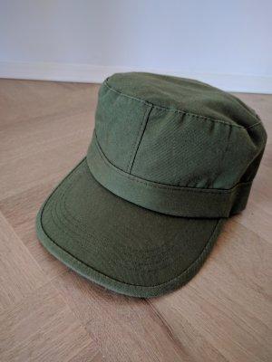 khaki Mütze Military Cap Schirmmütze Kappe