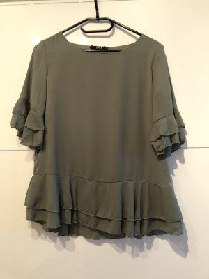 Only Ruche blouse veelkleurig