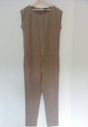khaki Overall Jumpsuit clean Hochzeit blogger Hosenanzug MbyM