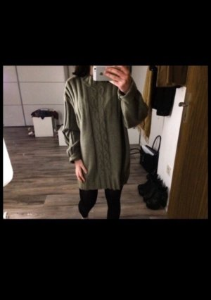 Khaki Oversize Pullover