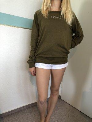 "Khaki Pullover ""Minimal"""