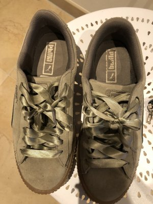Puma Lace-Up Sneaker khaki