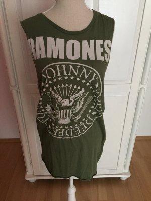 Khaki Ramones Kleid Top TankTop