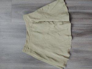 Forever 21 Skater Skirt green grey