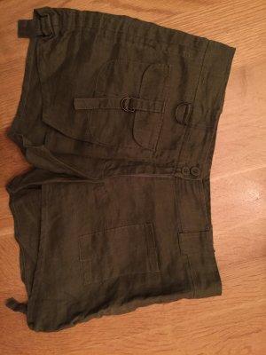 Khaki Shorts von Zara