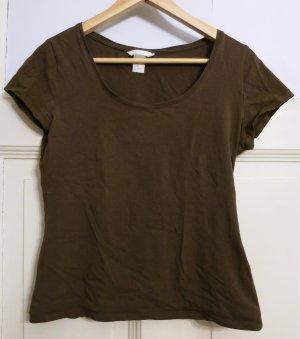 Khaki T-Shirt, Gr.38