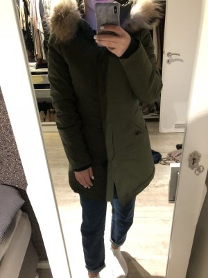 Khaki Wintermantel