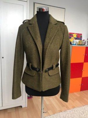 Yessica Giacca di lana cachi