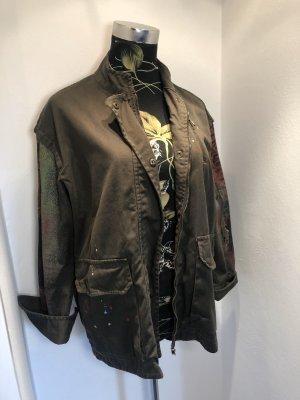 Khaki Zara Jacke