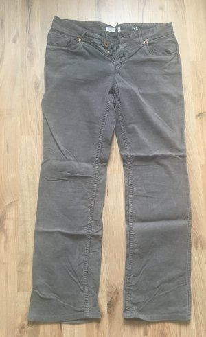 Marc O'Polo Corduroy Trousers khaki-green grey