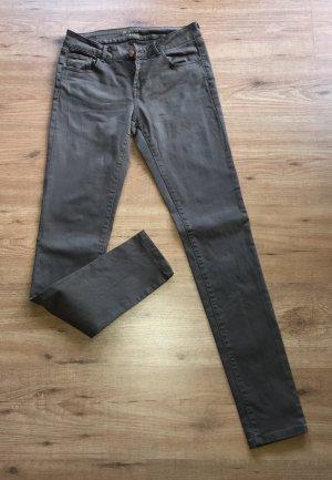 Promod Pantalón de color caqui caqui