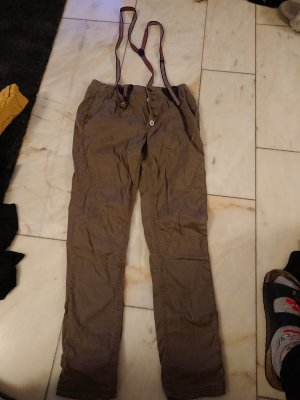 Fresh made Overall olijfgroen-khaki