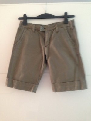 Replay Khakis olive green cotton