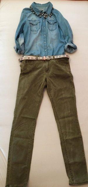 Khakifarbene Jeans von Esprit