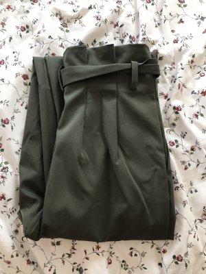 H&M Pantalone a pieghe cachi