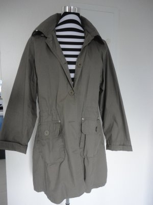 Khakifarbene leichte Jacke in Gr. L