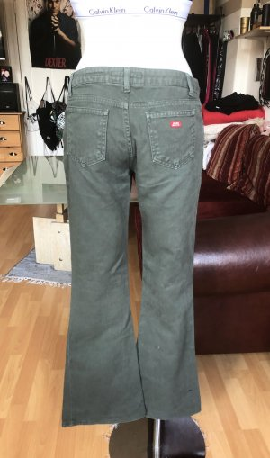 Khakifarbene Miss Sixty Extra Low Jeans S