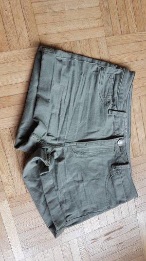 khakifarbene Shorts von Jacqueline de Yong