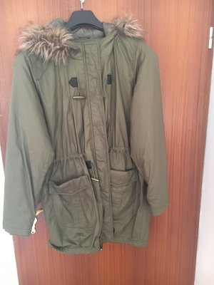 Khakifarbener Mantel Vero moda