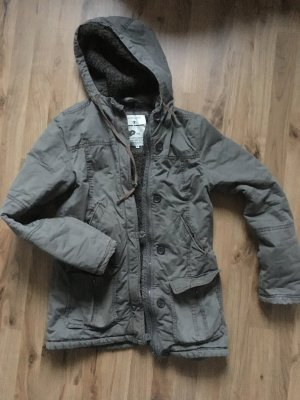 Tom Tailor Winter Jacket green grey-khaki