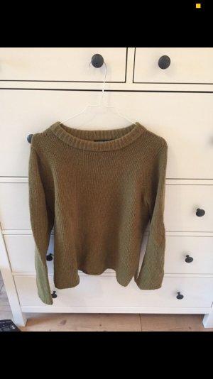 Khakifarbener Pullover von Mango