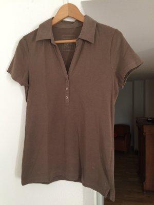 Khakifarbenes Poloshirt von Esprit in Größe 42
