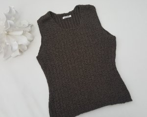Savannah Knitted Top khaki mixture fibre