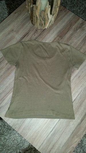 Khakifarbenes T-Shirt v. s.Oliver Gr. 38 M