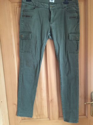 Khakigrüne Hose von Vero Moda