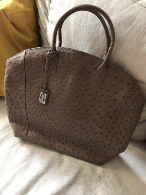 Khari Straußenledertasche