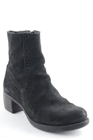 Khrio Winter-Stiefeletten schwarz Casual-Look