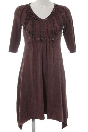 Khujo A-Linien Kleid purpur Mittelalter-Look