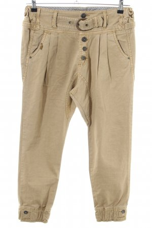 Khujo Baggy Jeans cream casual look