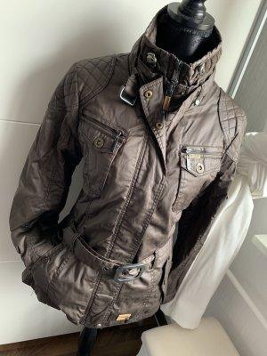 Khujo Biker Jacket brown-black brown