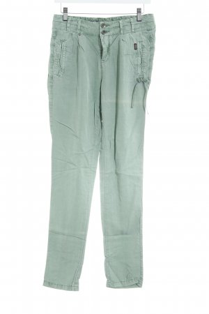 Khujo Cargo Pants lime-green casual look