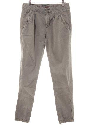 Khujo Pantalone chino marrone-grigio stile casual