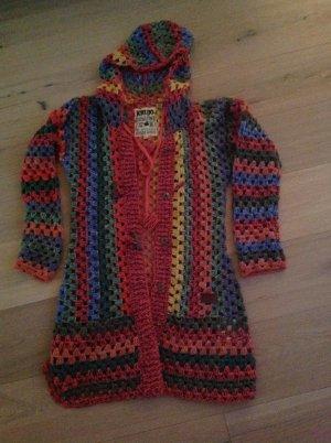 KHUJO Damen Cardigan Thite multicolor  XL Strickjacke
